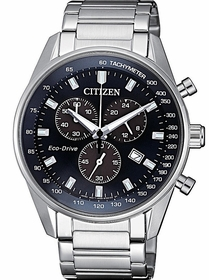 Citizen AT2390-82L  Mens Chronograph Eco-Drive Watch