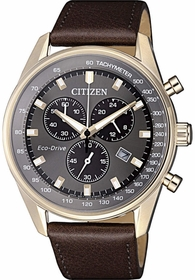 Citizen AT2393-17H  Mens Chronograph Eco-Drive Watch