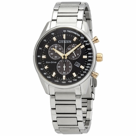 Citizen AT2396-78E Eco-Drive Mens Chronograph Eco-Drive Watch