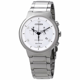 Citizen AT2400-81A Eco-Drive Mens Chronograph Eco-Drive Watch