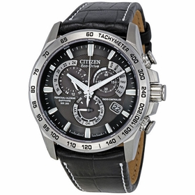 Citizen AT4000-02E Perpetual Calendar Mens Chronograph Eco-Drive Watch