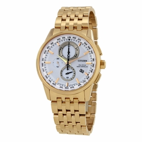 Citizen AT8113-55A World Time A-T Mens Chronograph Eco-Drive Watch
