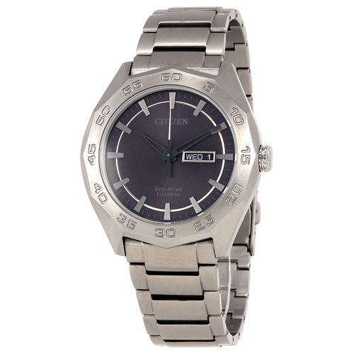 Citizen AW0060-54H Eco-Drive Titanium Mens Eco-Drive Watch