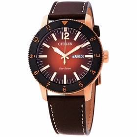 Citizen AW0076-03X Vintage Brycen Mens Eco-Drive Watch