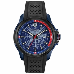 Citizen AW1156-01W Marvel Spider-Man Mens Eco-Drive Watch