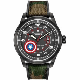 Citizen AW1367-05W Marvel Captain America Mens Eco-Drive Watch