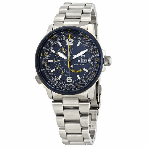 Citizen BJ7006-56L Promaster Nighthawk Mens Eco-Drive Watch
