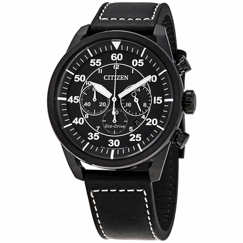 Citizen CA4215-21H Avion Mens Chronograph Eco-Drive Watch