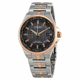 Citizen CB0166-54H World Perpetual A-T Mens Eco-Drive Watch