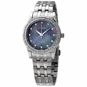 Citizen EM0770-52Y Silhouette Crystal Ladies Eco-Drive Watch