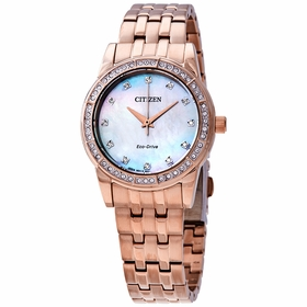Citizen EM0773-54D Silhouette Crystal Ladies Eco-Drive Watch