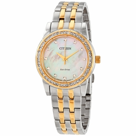 Citizen EM0774-51D Silhouette Crystal Ladies Eco-Drive Watch