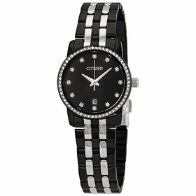 Citizen EU6037-57E Swarovski Crystal Ladies Quartz Watch