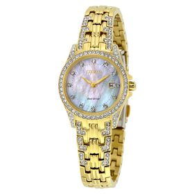 Citizen EW1222-84D Silhouette Crystal Ladies Eco-Drive Watch
