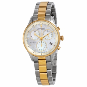 Citizen FB1444-56D Chandler Ladies Chronograph Eco-Drive Watch