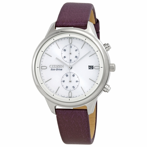 Citizen FB2000-11A Chandler Ladies Chronograph Eco-Drive Watch
