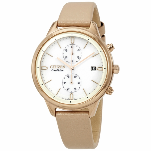 Citizen FB2003-05A Chandler Ladies Chronograph Eco-Drive Watch