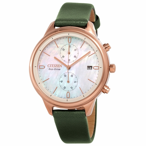 Citizen FB2008-01D Chandler Ladies Chronograph Eco-Drive Watch