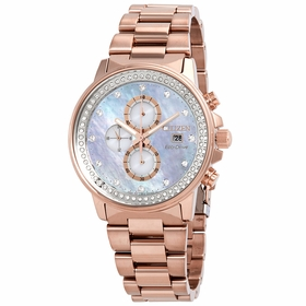 Citizen FB3003-51Y Chandler Ladies Chronograph Eco-Drive Watch