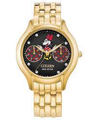 Citizen FD4018-55W Positively Minnie Ladies Chronograph Eco-Drive Watch