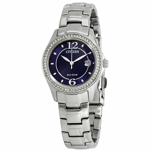 Citizen FE1140-86L Silhouette Crystal Ladies Eco-Drive Watch