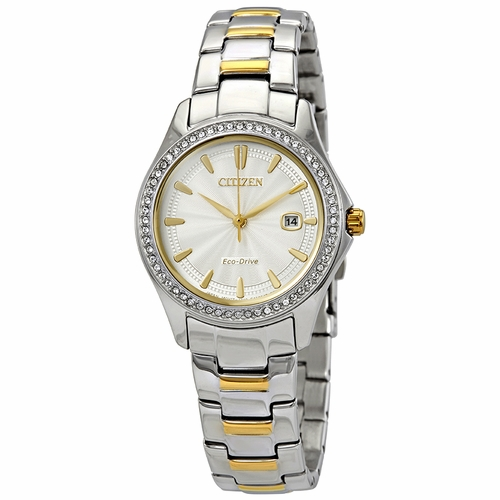 Citizen FE1144-69A Silhouette Crystal Ladies Eco-Drive Watch