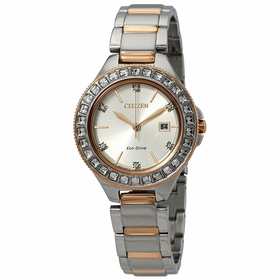 Citizen FE1196-57A Silhouette Crystal Ladies Eco-Drive Watch
