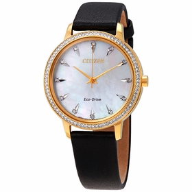 Citizen FE7042-07D Silhouette Crystal Ladies Eco-Drive Watch