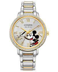 Citizen FE7044-52W Mickey Mouse Ladies Eco-Drive Watch