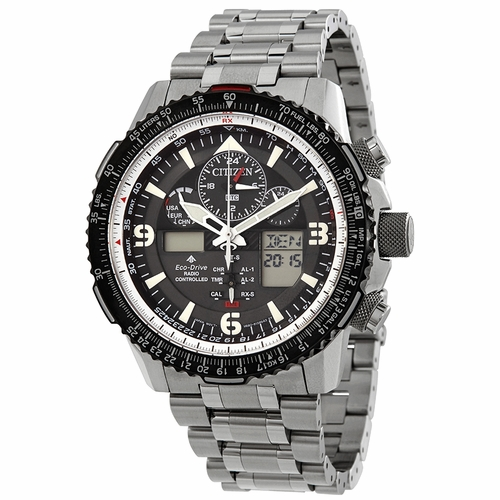 Citizen JY8070-54E Promaster Skyhawk A-T Mens Chronograph Eco-Drive Watch