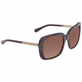 Coach 0HC8237 548574 57 HC8237 Ladies  Sunglasses