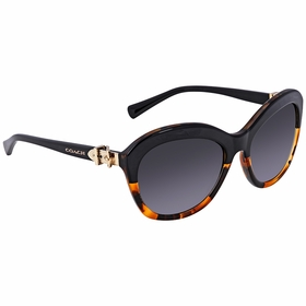 Coach HC8184 5404T3 57  Ladies  Sunglasses