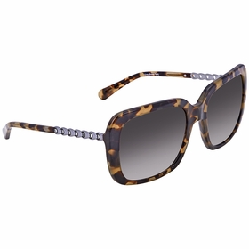 Coach HC8237 551811 57 HC8237 Ladies  Sunglasses