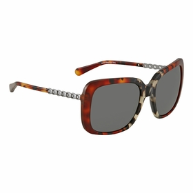 Coach HC8237 551987 57 HC8237 Ladies  Sunglasses