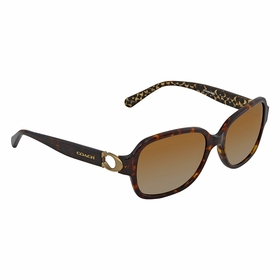 Coach HC8241 5507T5 57  Ladies  Sunglasses