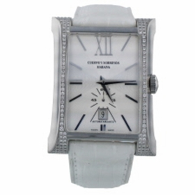 Cuervo Y Sobrinos 2415.1AG-S1 ESPLENDIDOS XL DATE DIAMOND Mens Automatic Watch
