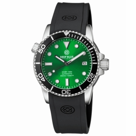 Deep Blue DIVER40SUNRAYGREEN Diver 40 Collection Unisex Automatic Watch