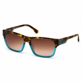 Diesel DL0012-89F  Mens  Sunglasses