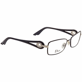 Dior 3754STR 0BKS 55  Ladies  Eyeglasses