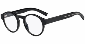 Dior BLACK245 0807 48 Mens Eyeglass Frames