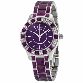 Dior CD143115M001 Christal Ladies Quartz Watch