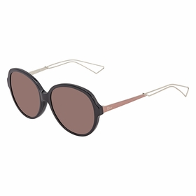 Dior DIORCONFIDENTK URC/K2 58 Confident Ladies  Sunglasses