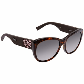 Dior DIORINEDITE BOJ 56 Inedite Ladies  Sunglasses