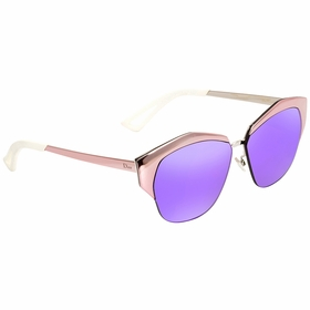 Dior DIORMIRRORED I24/TE 55 Mirrored Ladies  Sunglasses