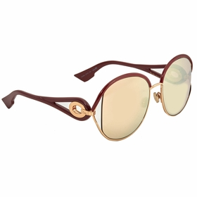 Dior DIORNEWVOLUTE 0NOA 57 New Volute Ladies  Sunglasses