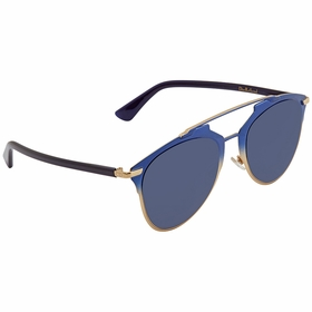 Dior DIORREFLECTED TVW/KU 52 Reflected Ladies  Sunglasses