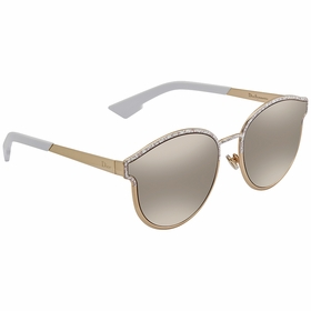 Dior DIORSYMMETRIC GBZ/QV 60 Symmetric Ladies  Sunglasses