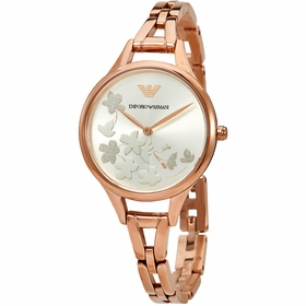 Emporio Armani AR11108 Floral Motif Ladies Quartz Watch