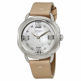 Fendi F8020345H0C1-PK Selleria Ladies Quartz Watch