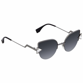 Fendi FE-FF0242S KJ1 52 Rainbow Ladies  Sunglasses